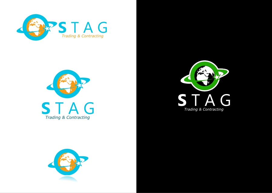 Logo Design by Private User - Entry No. 41 in the Logo Design Contest Captivating Logo Design for STAG Trading & Contracting.