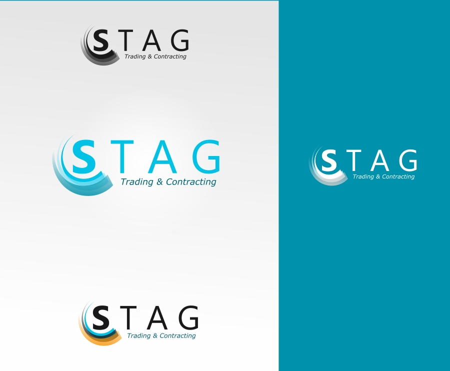 Logo Design by Private User - Entry No. 42 in the Logo Design Contest Captivating Logo Design for STAG Trading & Contracting.