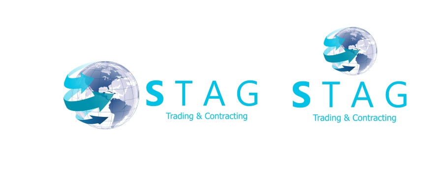 Logo Design by Private User - Entry No. 43 in the Logo Design Contest Captivating Logo Design for STAG Trading & Contracting.