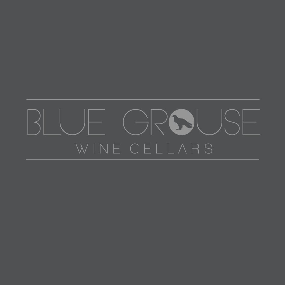 Logo Design by moonflower - Entry No. 127 in the Logo Design Contest Creative Logo Design for Blue Grouse Wine Cellars.
