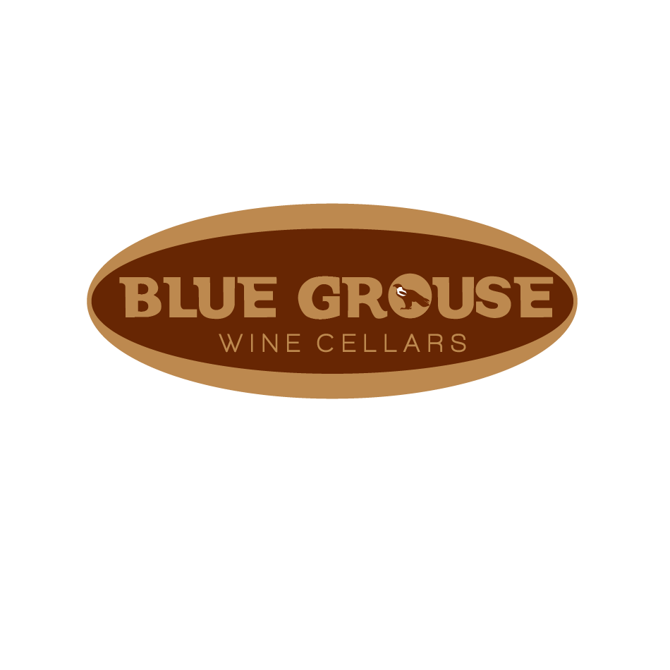 Logo Design by moonflower - Entry No. 128 in the Logo Design Contest Creative Logo Design for Blue Grouse Wine Cellars.