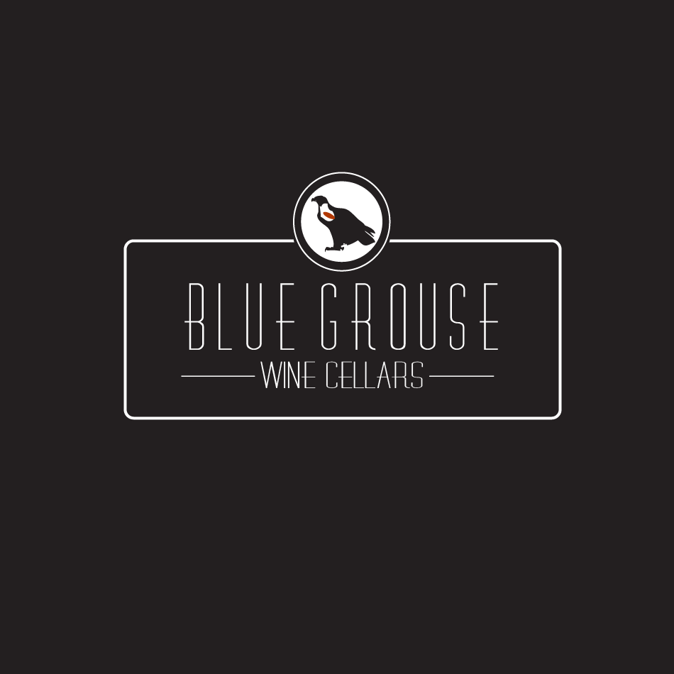 Logo Design by moonflower - Entry No. 129 in the Logo Design Contest Creative Logo Design for Blue Grouse Wine Cellars.