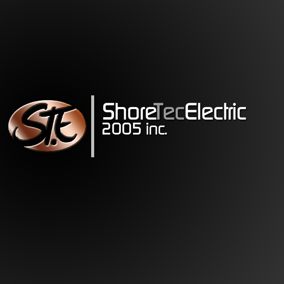 Logo Design by lapakera - Entry No. 154 in the Logo Design Contest Shore Tec Electric 2005 Inc.