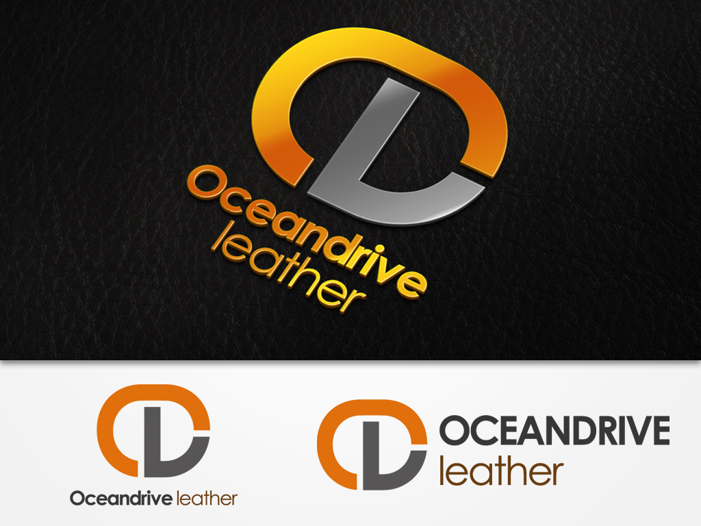 Logo Design by khoirul.azm - Entry No. 43 in the Logo Design Contest Captivating Logo Design for Oceandrive Leather.