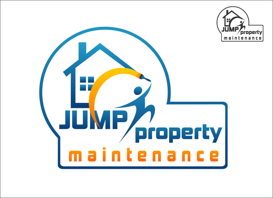 Logo Design by Ngepet_art - Entry No. 5 in the Logo Design Contest Creative Logo Design for Jump Property Maintenance.