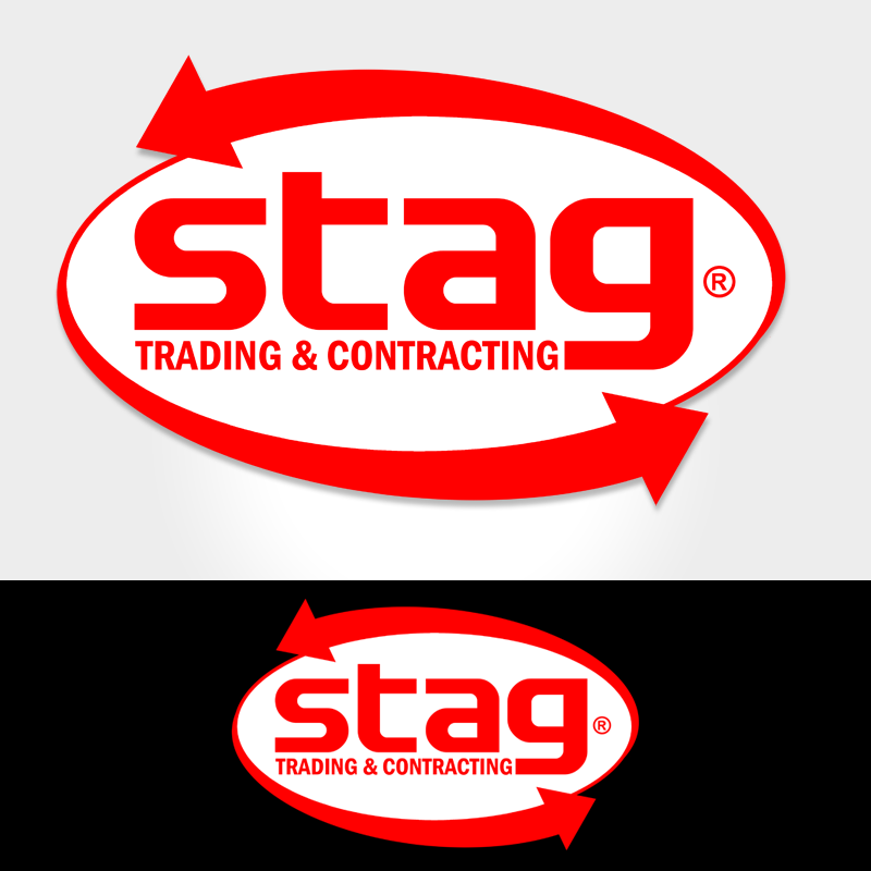 Logo Design by Private User - Entry No. 44 in the Logo Design Contest Captivating Logo Design for STAG Trading & Contracting.