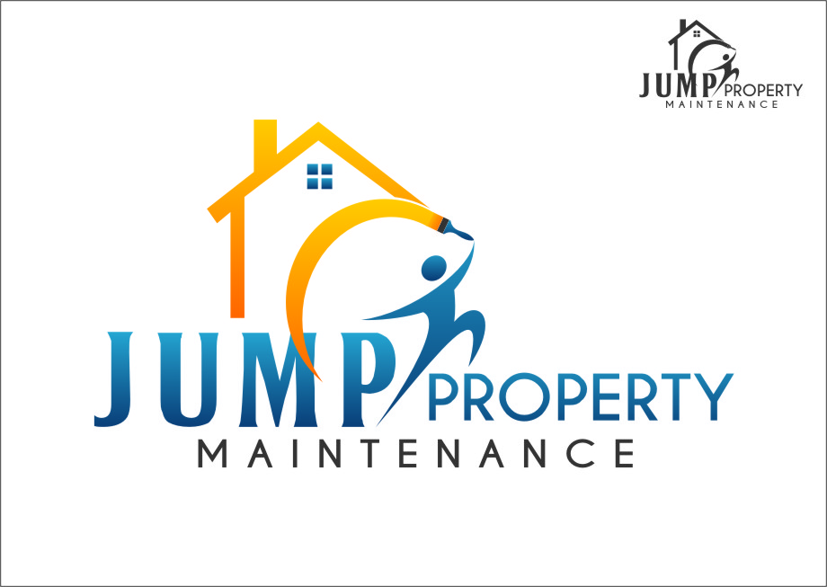 Logo Design by Ngepet_art - Entry No. 6 in the Logo Design Contest Creative Logo Design for Jump Property Maintenance.