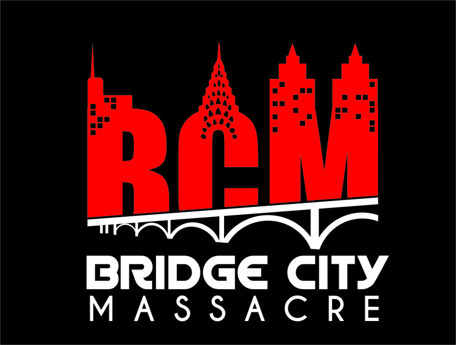 Logo Design by RasYa Muhammad Athaya - Entry No. 11 in the Logo Design Contest New Logo Design for Bridge City Massacre.