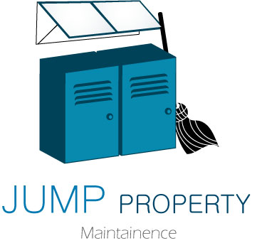 Logo Design by Vivek Singh - Entry No. 7 in the Logo Design Contest Creative Logo Design for Jump Property Maintenance.