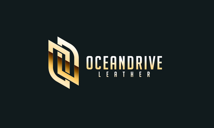 Logo Design by Top Elite - Entry No. 49 in the Logo Design Contest Captivating Logo Design for Oceandrive Leather.