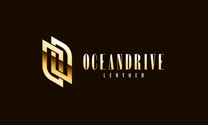Logo Design by Top Elite - Entry No. 50 in the Logo Design Contest Captivating Logo Design for Oceandrive Leather.