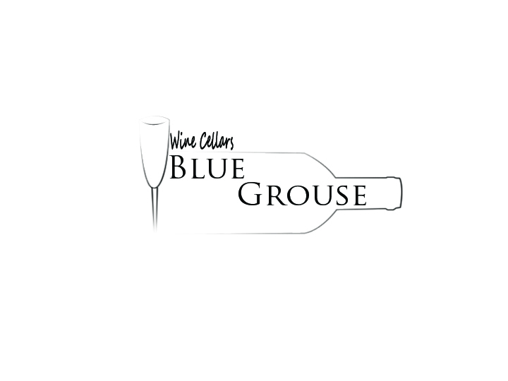Logo Design by Ashesh Gaurav - Entry No. 143 in the Logo Design Contest Creative Logo Design for Blue Grouse Wine Cellars.