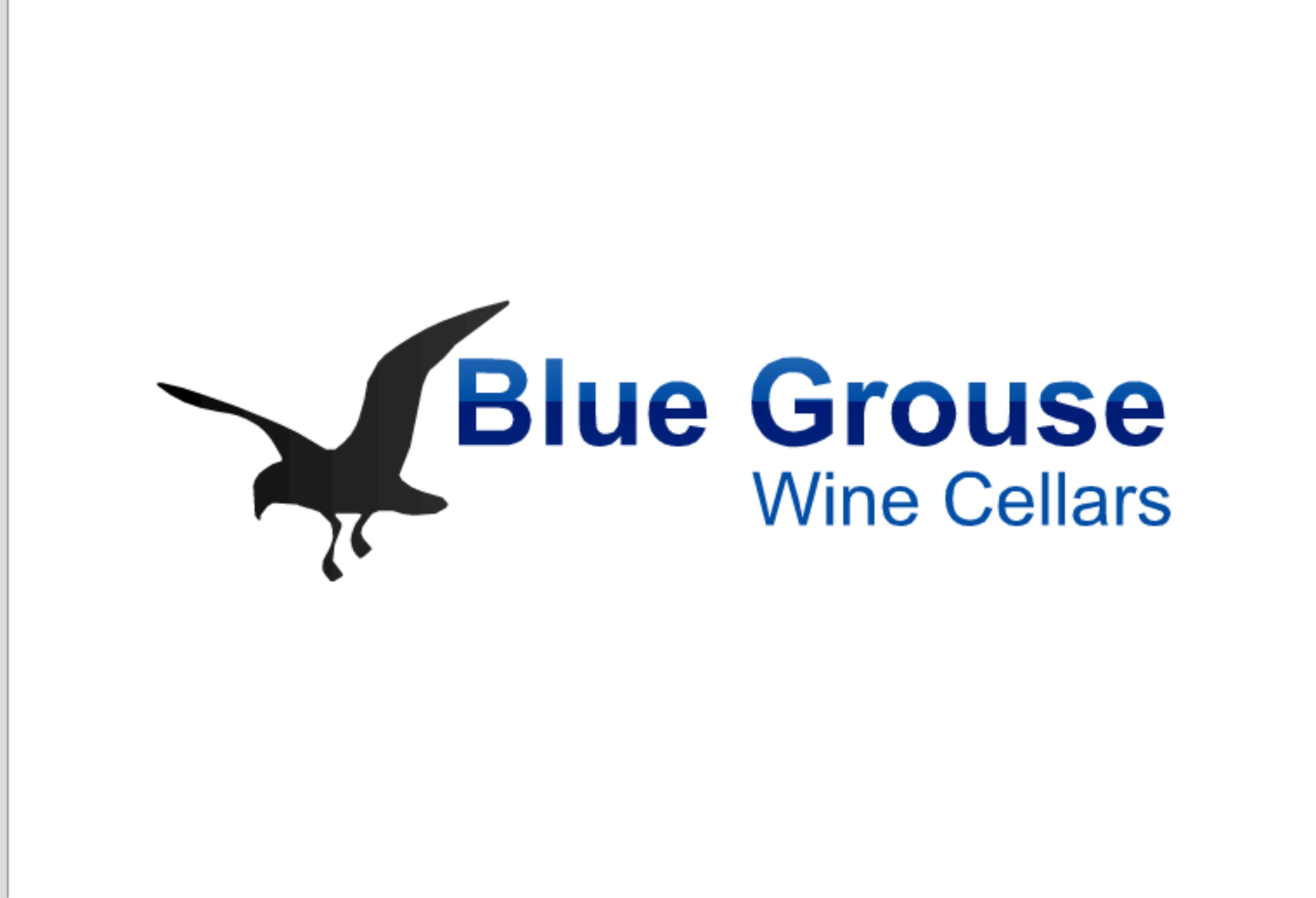 Logo Design by Shailender Kumar - Entry No. 149 in the Logo Design Contest Creative Logo Design for Blue Grouse Wine Cellars.