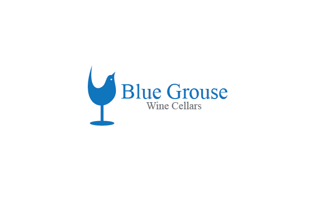 Logo Design by Private User - Entry No. 152 in the Logo Design Contest Creative Logo Design for Blue Grouse Wine Cellars.