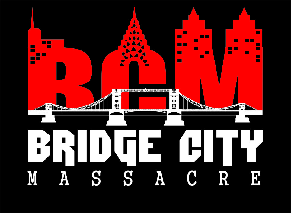 Logo Design by Ngepet_art - Entry No. 13 in the Logo Design Contest New Logo Design for Bridge City Massacre.