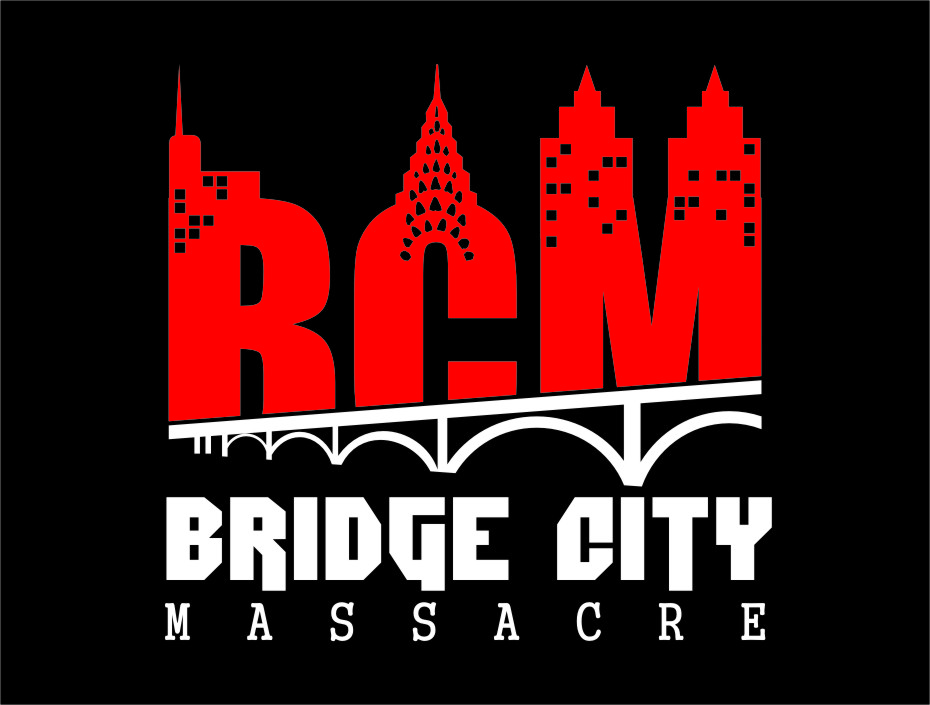 Logo Design by RasYa Muhammad Athaya - Entry No. 14 in the Logo Design Contest New Logo Design for Bridge City Massacre.