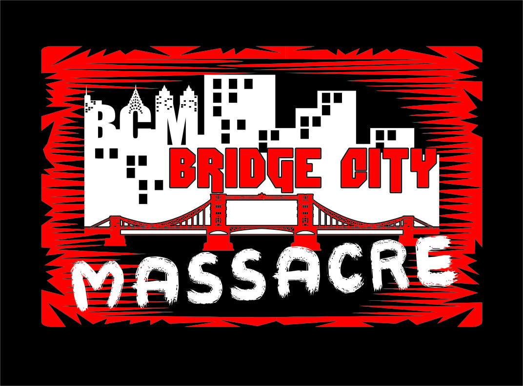 Logo Design by Ngepet_art - Entry No. 16 in the Logo Design Contest New Logo Design for Bridge City Massacre.