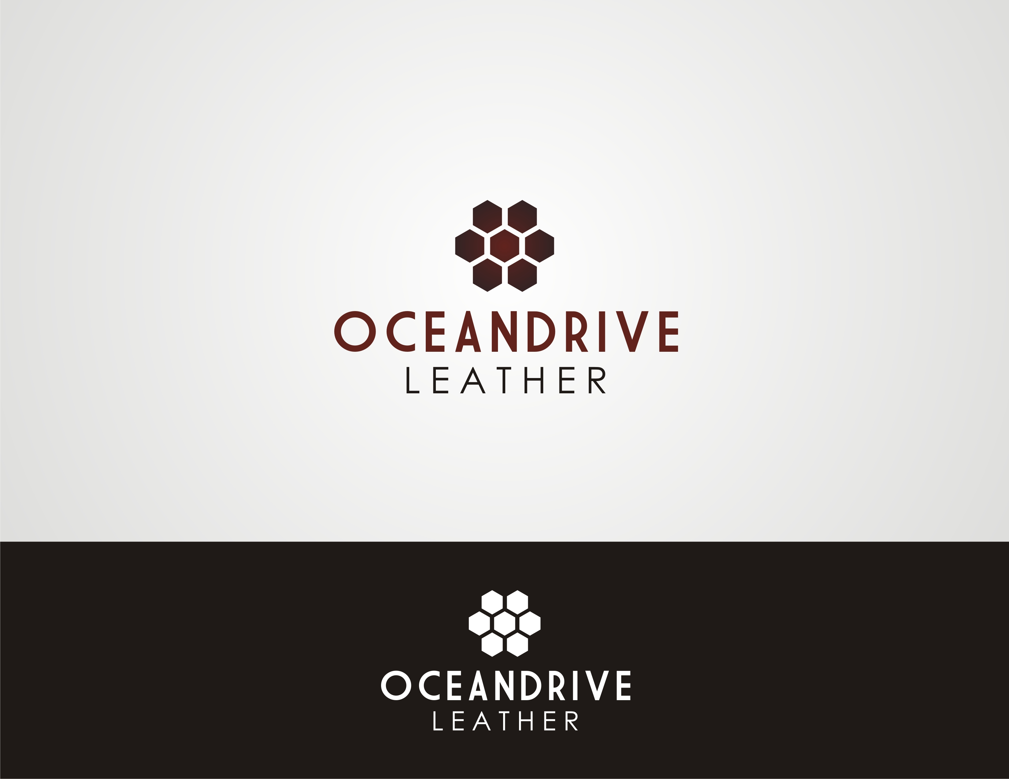 Logo Design by Sourav Sarkar - Entry No. 58 in the Logo Design Contest Captivating Logo Design for Oceandrive Leather.