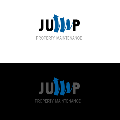 Logo Design by liboy - Entry No. 14 in the Logo Design Contest Creative Logo Design for Jump Property Maintenance.