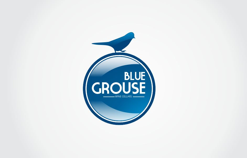 Logo Design by Tenstar Design - Entry No. 164 in the Logo Design Contest Creative Logo Design for Blue Grouse Wine Cellars.