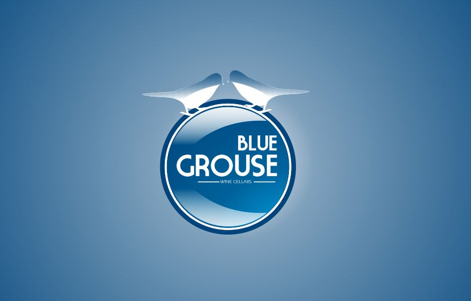 Logo Design by Tenstar Design - Entry No. 165 in the Logo Design Contest Creative Logo Design for Blue Grouse Wine Cellars.