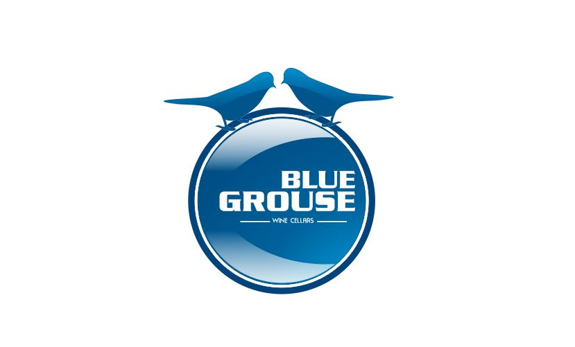 Logo Design by Tenstar Design - Entry No. 169 in the Logo Design Contest Creative Logo Design for Blue Grouse Wine Cellars.