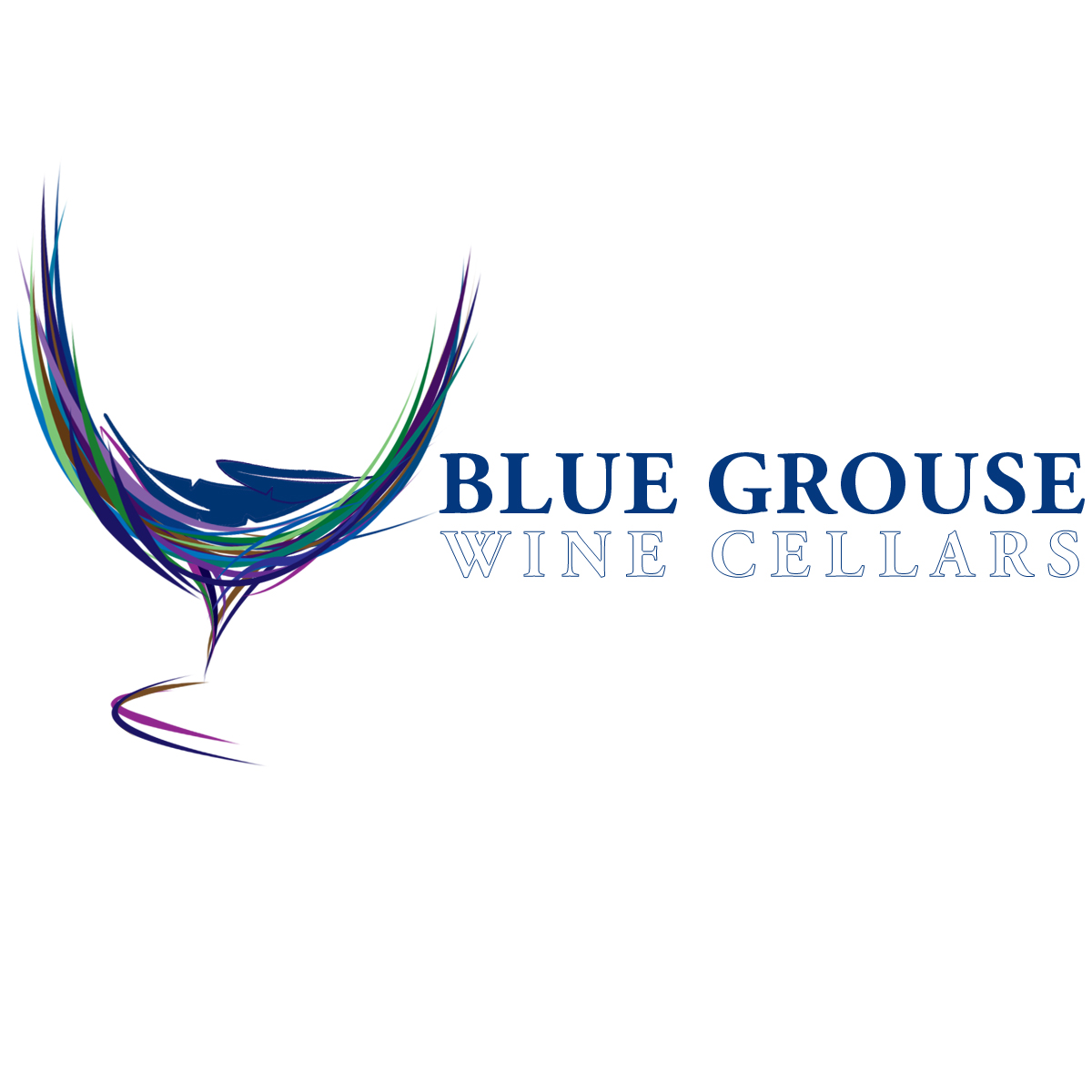 Logo Design by Private User - Entry No. 170 in the Logo Design Contest Creative Logo Design for Blue Grouse Wine Cellars.