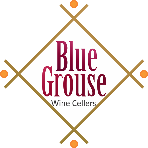 Logo Design by Gagan Kapoor - Entry No. 174 in the Logo Design Contest Creative Logo Design for Blue Grouse Wine Cellars.