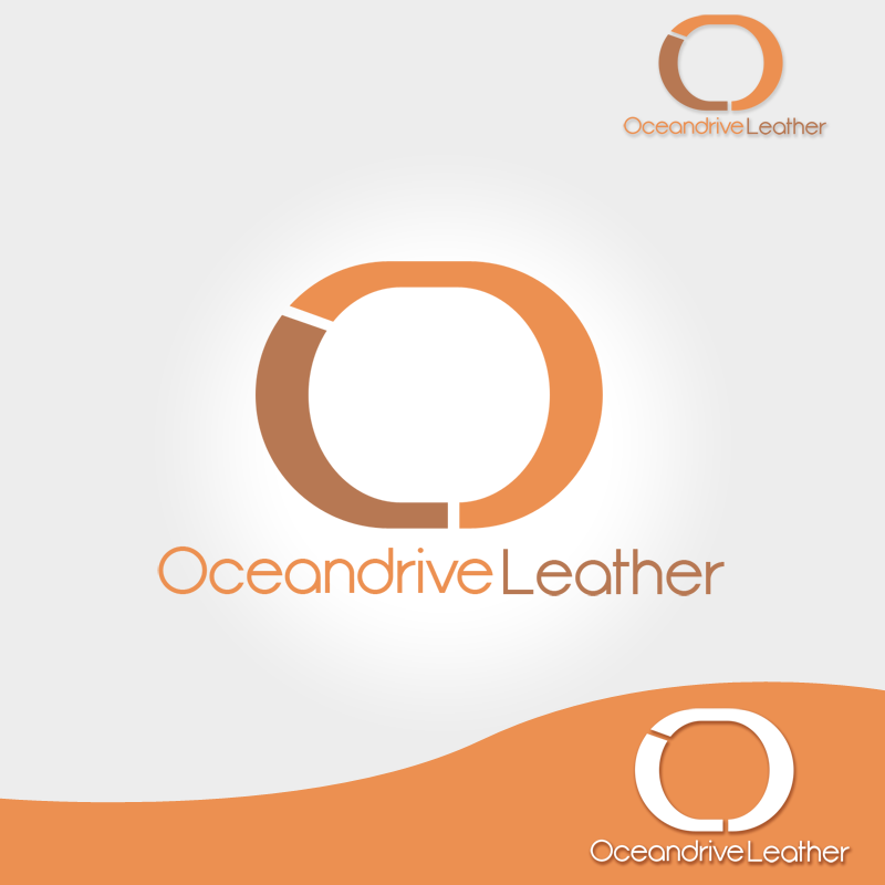 Logo Design by Private User - Entry No. 60 in the Logo Design Contest Captivating Logo Design for Oceandrive Leather.
