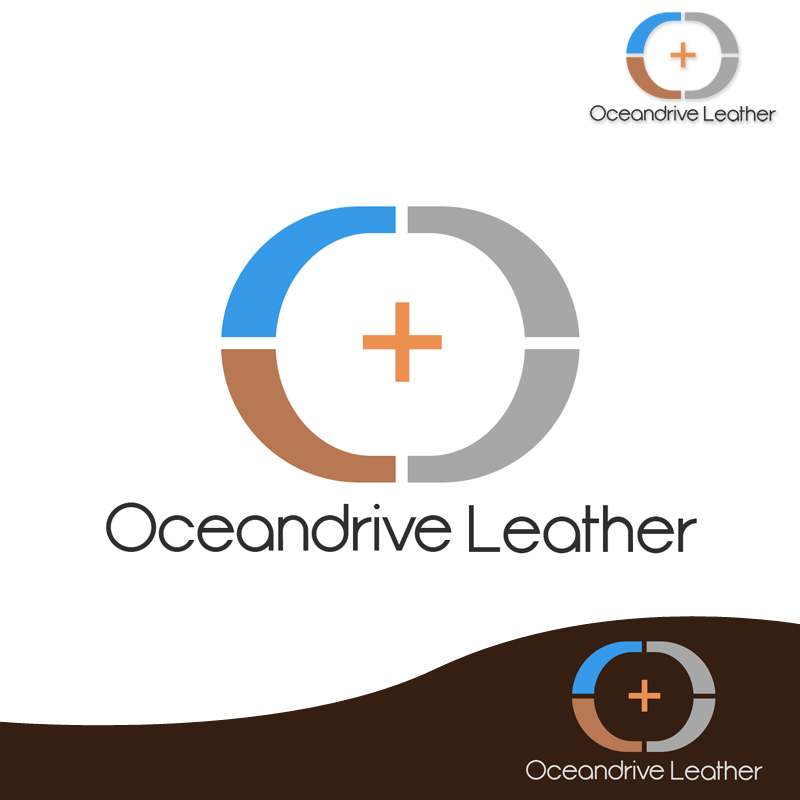 Logo Design by Private User - Entry No. 62 in the Logo Design Contest Captivating Logo Design for Oceandrive Leather.
