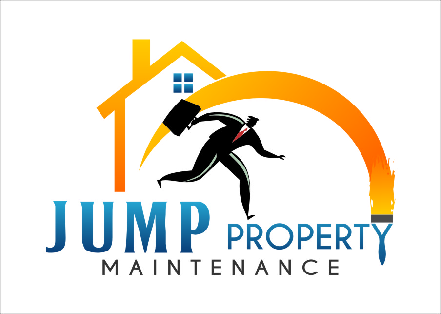 Logo Design by Ngepet_art - Entry No. 19 in the Logo Design Contest Creative Logo Design for Jump Property Maintenance.