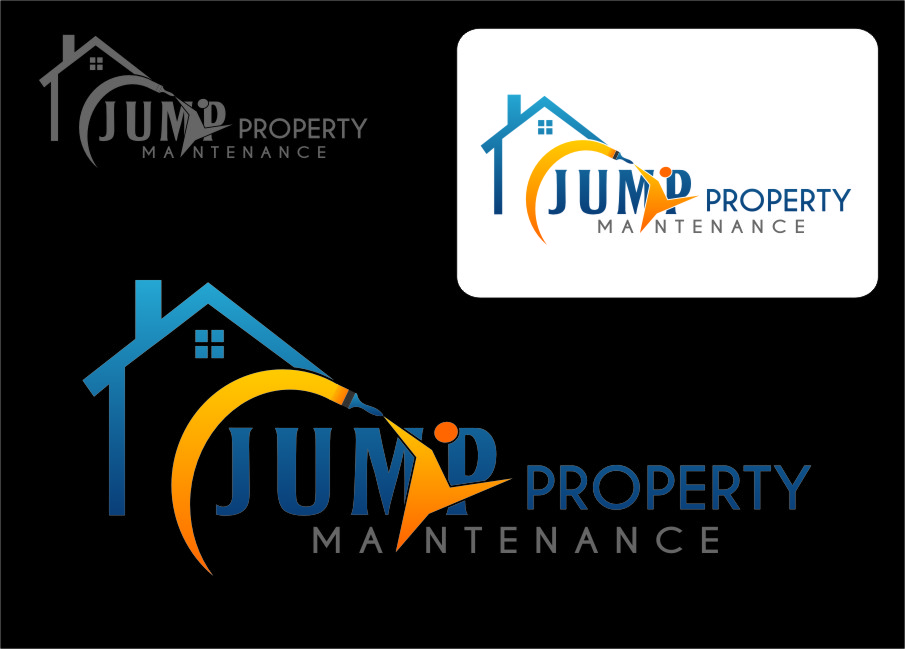 Logo Design by RasYa Muhammad Athaya - Entry No. 20 in the Logo Design Contest Creative Logo Design for Jump Property Maintenance.