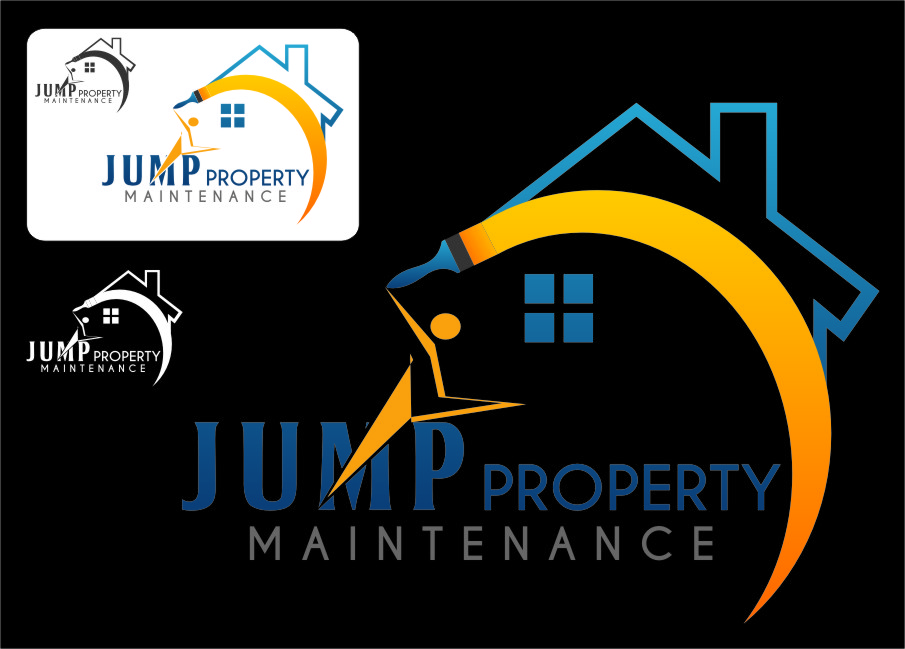 Logo Design by RasYa Muhammad Athaya - Entry No. 21 in the Logo Design Contest Creative Logo Design for Jump Property Maintenance.