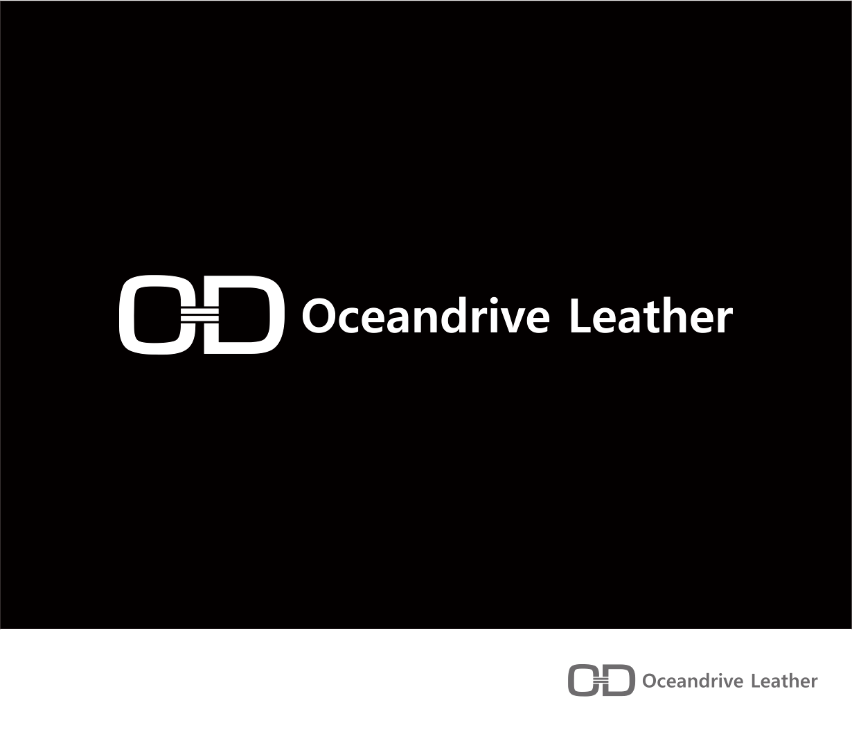 Logo Design by Armada Jamaluddin - Entry No. 68 in the Logo Design Contest Captivating Logo Design for Oceandrive Leather.