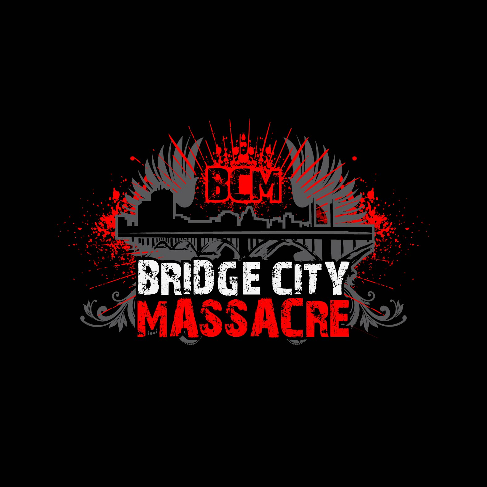 Logo Design by lagalag - Entry No. 19 in the Logo Design Contest New Logo Design for Bridge City Massacre.