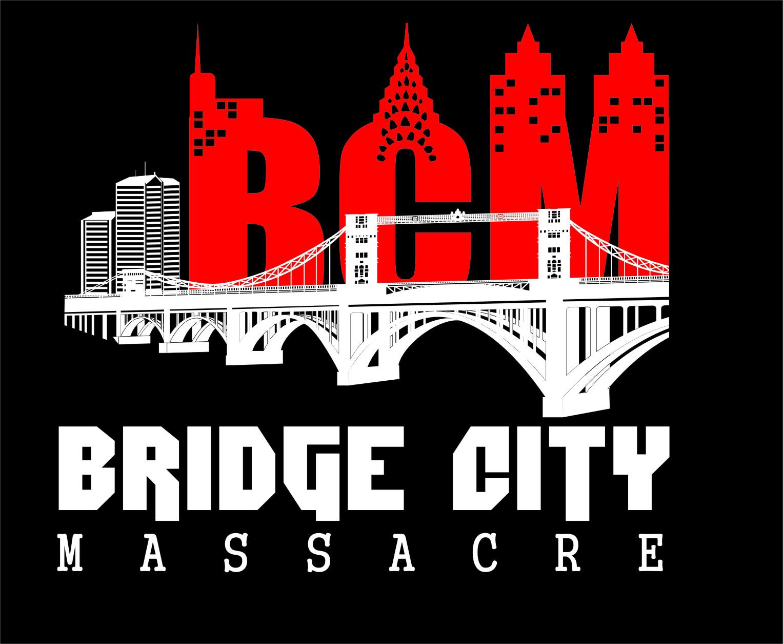 Logo Design by RasYa Muhammad Athaya - Entry No. 21 in the Logo Design Contest New Logo Design for Bridge City Massacre.
