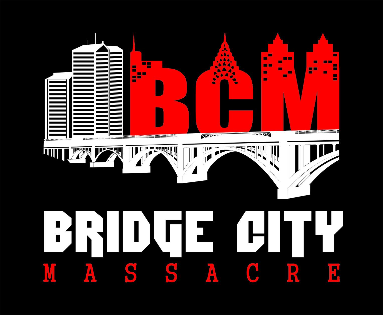 Logo Design by RasYa Muhammad Athaya - Entry No. 25 in the Logo Design Contest New Logo Design for Bridge City Massacre.
