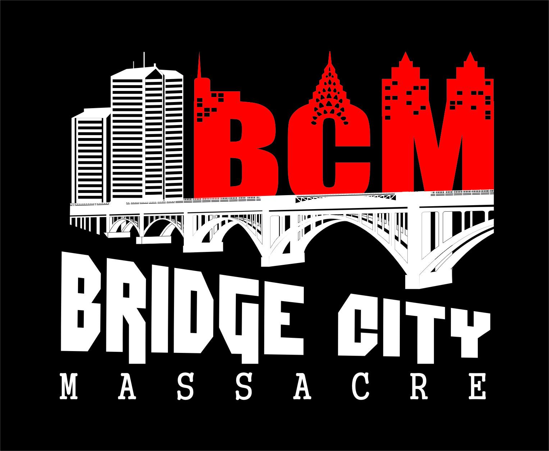 Logo Design by RasYa Muhammad Athaya - Entry No. 26 in the Logo Design Contest New Logo Design for Bridge City Massacre.