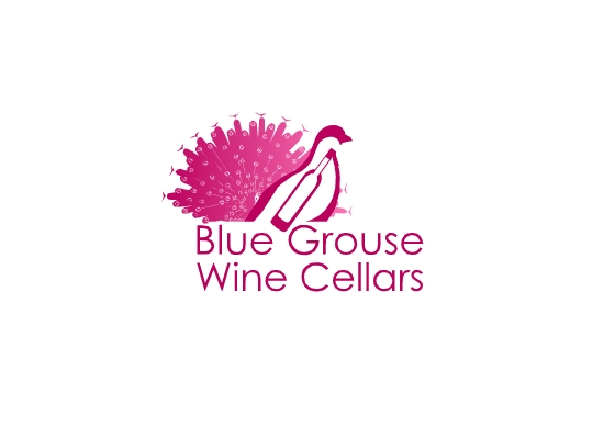 Logo Design by Ismail Adhi Wibowo - Entry No. 179 in the Logo Design Contest Creative Logo Design for Blue Grouse Wine Cellars.