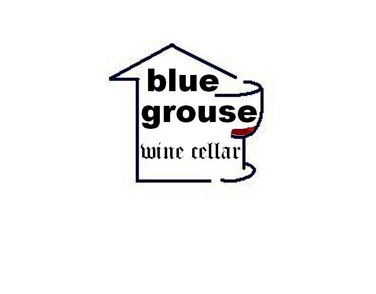 Logo Design by Mercedita Gerna-Castro - Entry No. 186 in the Logo Design Contest Creative Logo Design for Blue Grouse Wine Cellars.