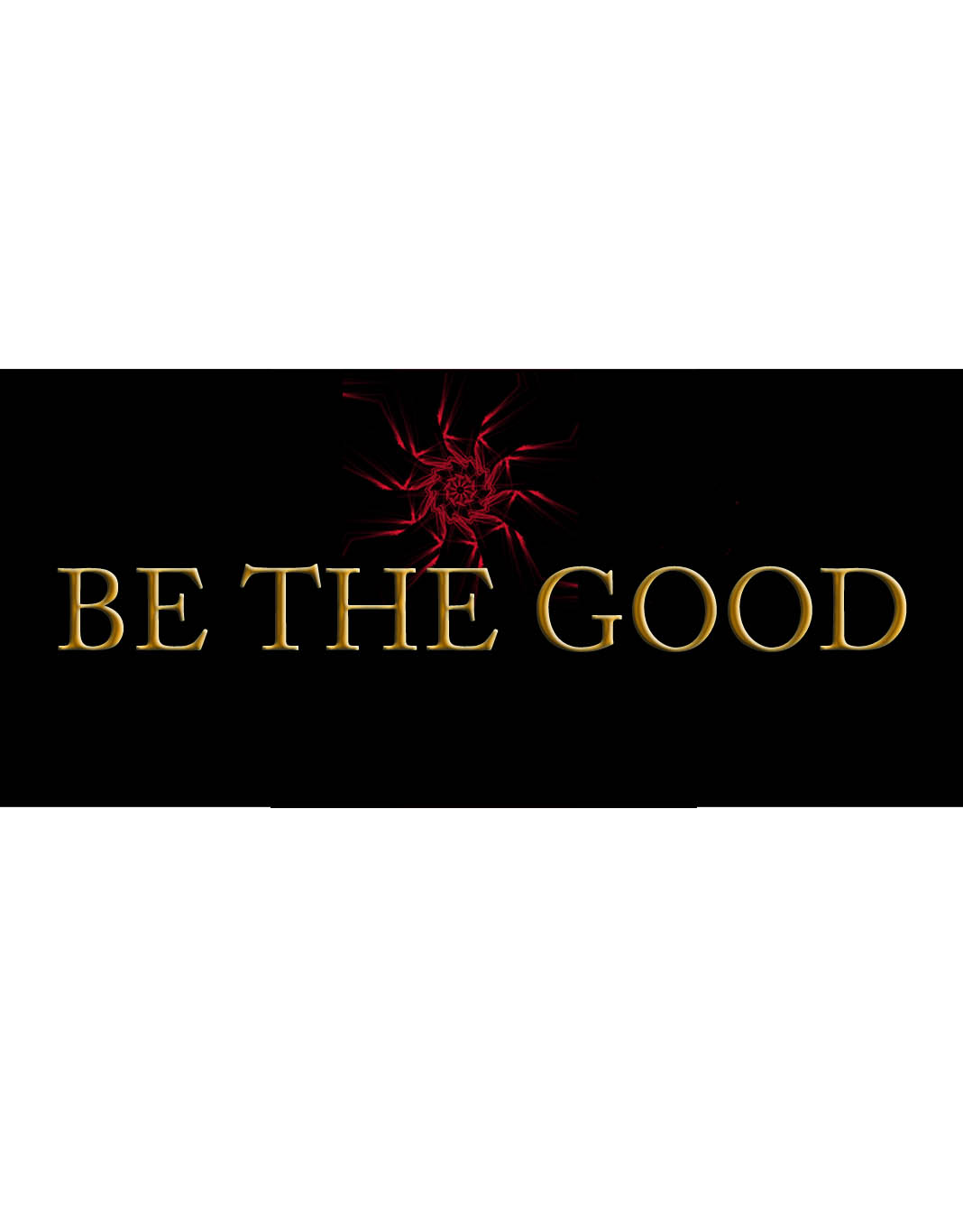 Logo Design by Geet Sharma - Entry No. 59 in the Logo Design Contest New Logo Design for Be the Good.