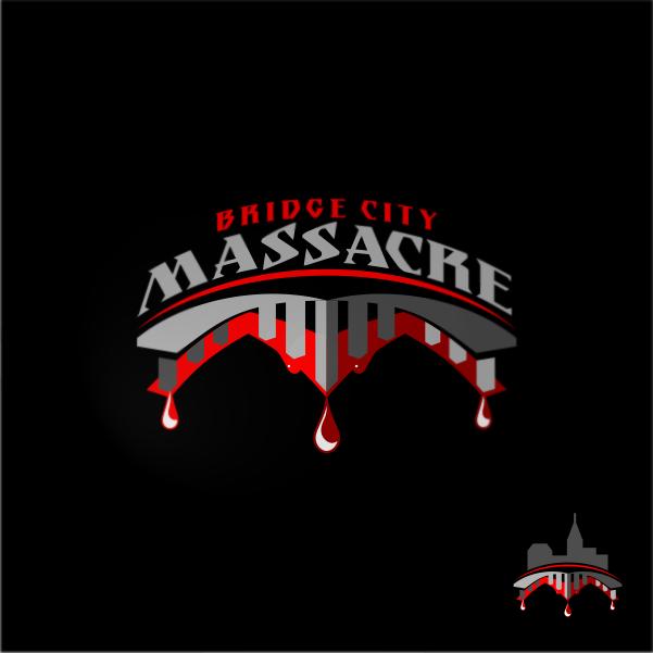 Logo Design by Private User - Entry No. 27 in the Logo Design Contest New Logo Design for Bridge City Massacre.