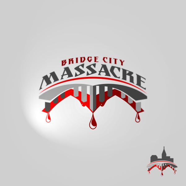 Logo Design by Private User - Entry No. 28 in the Logo Design Contest New Logo Design for Bridge City Massacre.