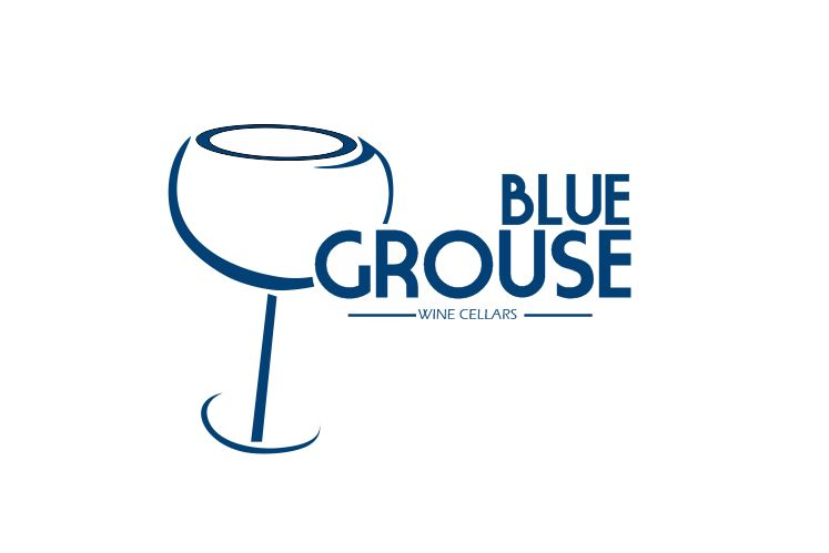 Logo Design by Tenstar Design - Entry No. 189 in the Logo Design Contest Creative Logo Design for Blue Grouse Wine Cellars.