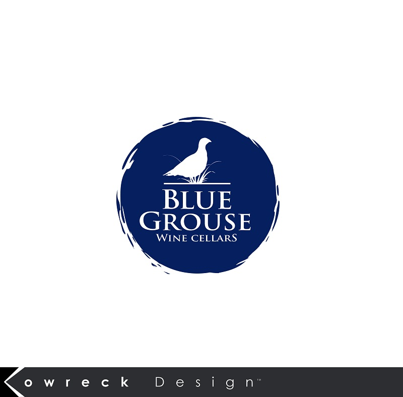 Logo Design by kowreck - Entry No. 192 in the Logo Design Contest Creative Logo Design for Blue Grouse Wine Cellars.