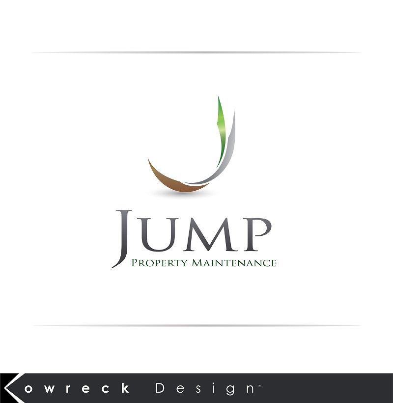 Logo Design by kowreck - Entry No. 28 in the Logo Design Contest Creative Logo Design for Jump Property Maintenance.
