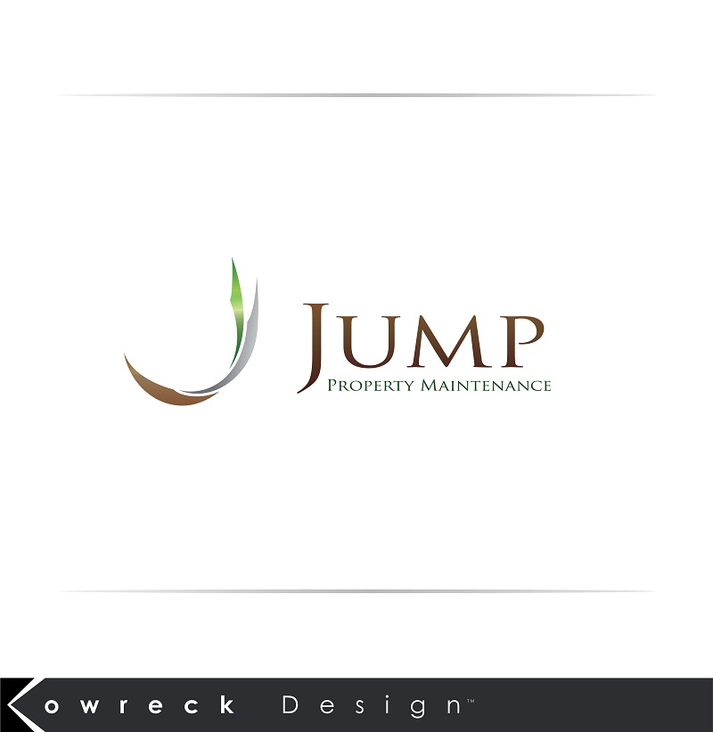 Logo Design by kowreck - Entry No. 29 in the Logo Design Contest Creative Logo Design for Jump Property Maintenance.