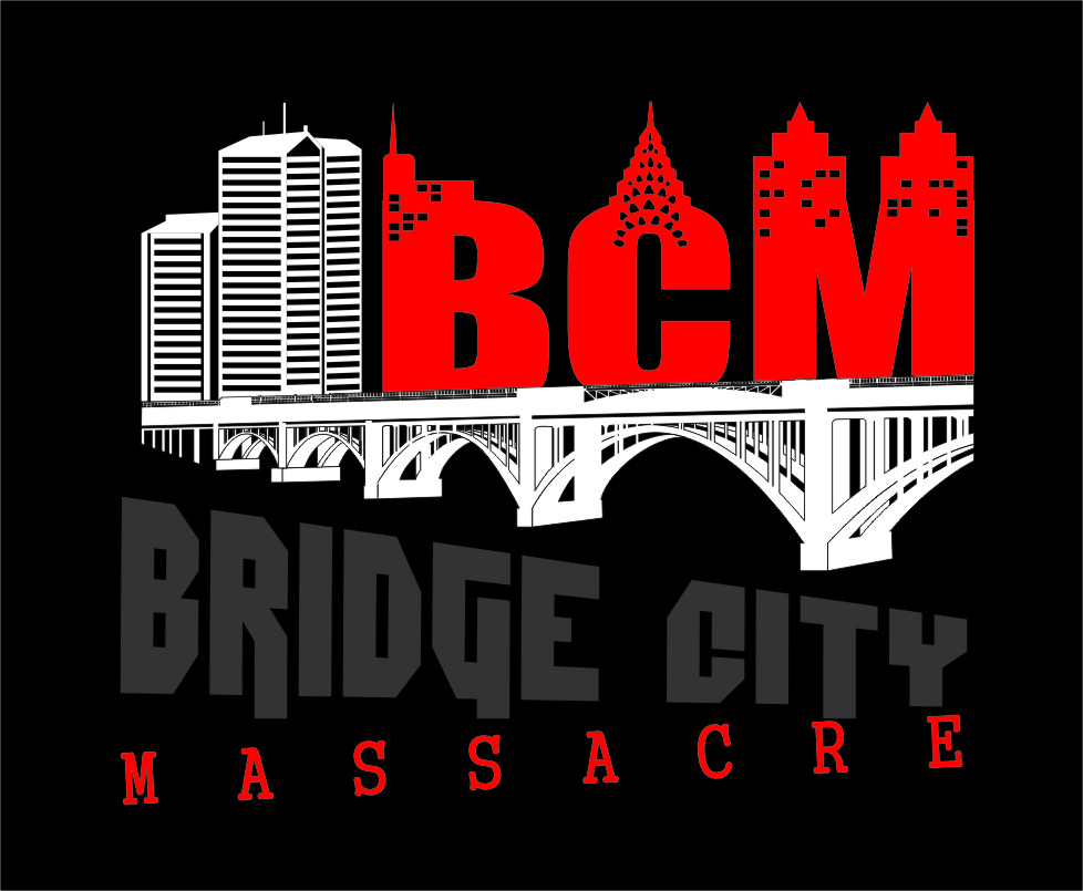 Logo Design by RasYa Muhammad Athaya - Entry No. 31 in the Logo Design Contest New Logo Design for Bridge City Massacre.