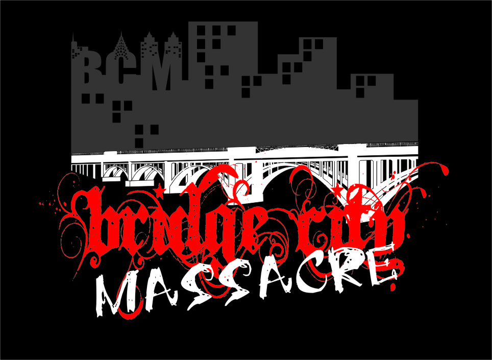 Logo Design by RasYa Muhammad Athaya - Entry No. 32 in the Logo Design Contest New Logo Design for Bridge City Massacre.