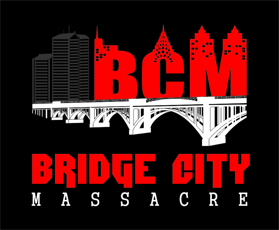Logo Design by RasYa Muhammad Athaya - Entry No. 34 in the Logo Design Contest New Logo Design for Bridge City Massacre.
